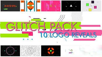 10 Glitch Shapes