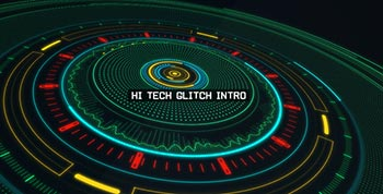 Hi Tech Glitch Intro