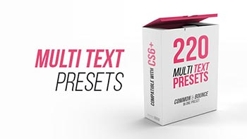 Multi Text Presets