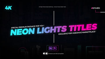 Neon Lights Titles