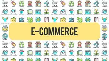 E Commerce 30 Animated Icons