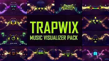 TrapWix Music Visualizer Pack