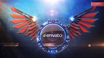 3D Wings Logo Reveal-6659911