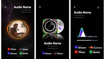 Audio Spectrum Visualization Pack-27996282