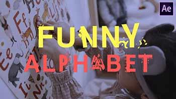 Funny Alphabet-28000907