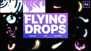Flying Drops
