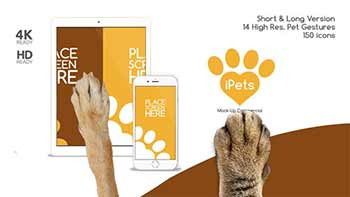 Pets Flat MockUp Device Kit-14345010