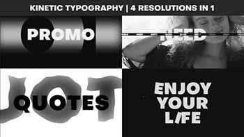 Typography Glitch Promo-889872