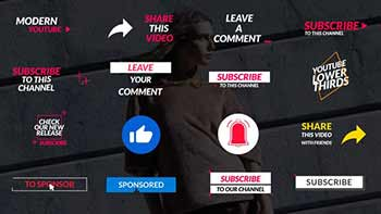 Youtube Lower Thirds-30147547