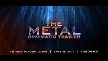The Metal Cinematic Trailer-18541886