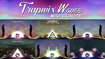 TrapWix Waves Music Visualizer-21461063