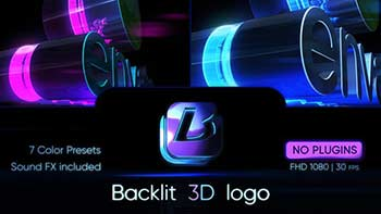 Backlit 3D Logo-30902997