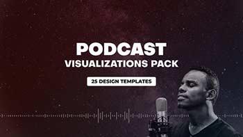 Podcast Audio Visualization Pack-31013297
