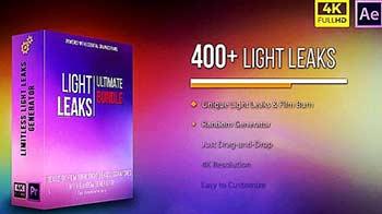 4K Ultimate Light Leaks Bundle-15064332