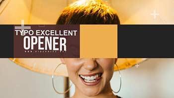Typo Excellent Opener-31067703