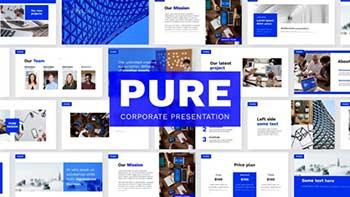 Pure Corporate Presentation Slides-31935430