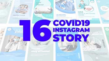 Covid-19 Instagram Story Pack-31909294