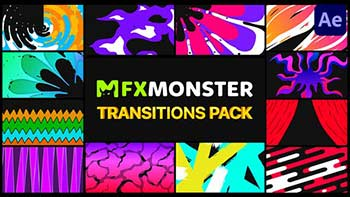 Stylish Colorful Transitions-30525863