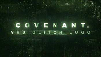 Covenant 3 VHS Glitch Logo-24159066