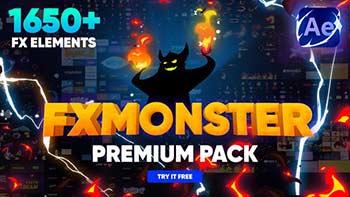 FX MONSTERFX MONSTER Premium Pack-32201381