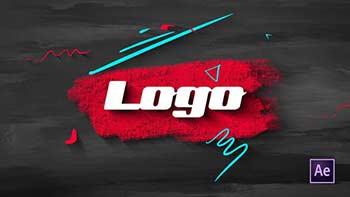Brush Scribble Logo-33277782