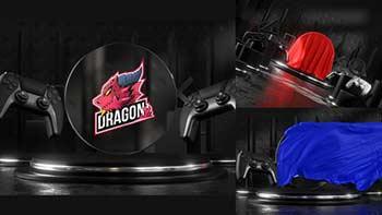 Gaming Logo Cloth Reveal-33269158