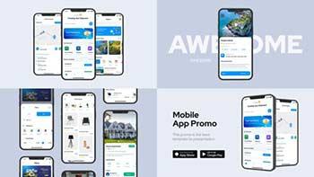 Clean Mobile App Promo-33230027