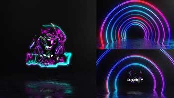Neon Tunnel Electric Logo-33283740