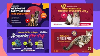 Pets Shop and Care Slideshow-32574226