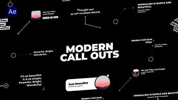 Videohive Modern Call Outs-33314524