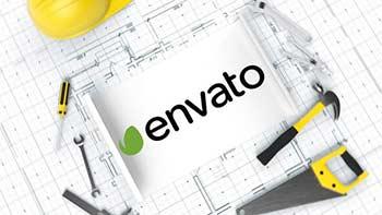 Construction Blueprint Logo-33872725