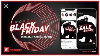 Black Friday Instagram Promo B140-33869770