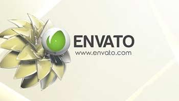 3D Clean Flower Logo-12416804