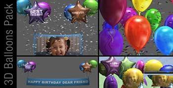 3D Balloon Pack-2887474