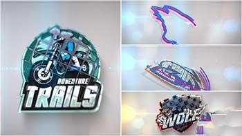 3D Line Logo Reveal-33494459