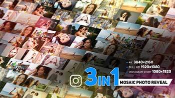 Modern Mosaic Photo Reveal-33909099
