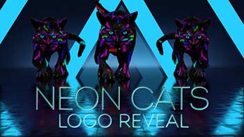 Neon Cats Logo Reveal-26778906