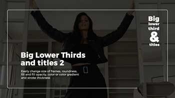 Big Lower Thirds-20773201