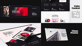 Minimalistic Website Promo-29234487