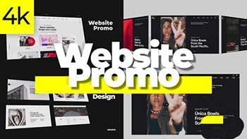 Stylish Website Promo 4K-29304119