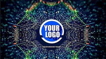Digital Glitch Logo Opener-983627