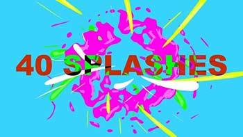 40 Animated Splashes-33913094