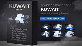 Kuwait Map-28165339