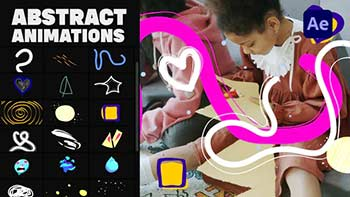 Abstract Animations Pack 03-34288060