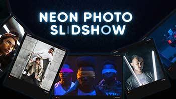 Neon Photo Slideshow-34155096