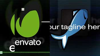 Two Glitch Logo Reveal-8376093