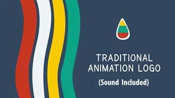 Traditional Animation Logo-10767012