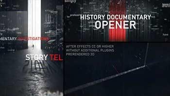 History Documentary Opener-34295039