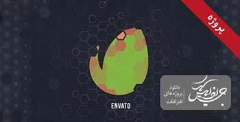 پروژه افترافکت Hexagon Geometric-12802034