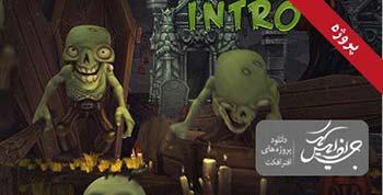 پروژه افترافکت Halloween Intro-9188241